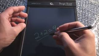 Download Gizmo - Boogie Board 10.5″ LCD Review Video