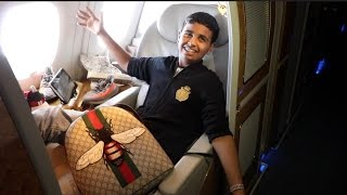 Download 15 YEAR OLD FLYS ON $30,000 FIRST CLASS FLIGHT Video