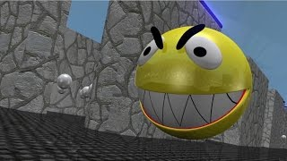 Download Short video with pac man 3D Video