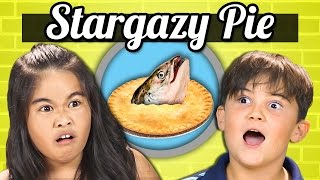 Download KIDS vs. FOOD - FISH HEAD PIE (Stargazy Pie) Video