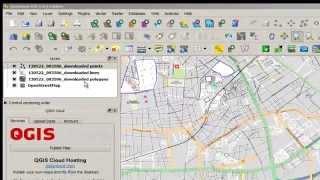 Download plugin OSM in Qgis Video