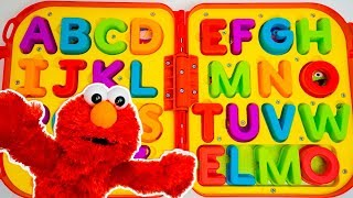 Download Elmo On the Go Letters | Elmo Toys | ABC Puzzle Video