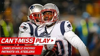 Download UNBELIEVABLE ENDING to Patriots vs. Steelers Game!   Can't-Miss Play   NFL Wk 15 Highlights Video