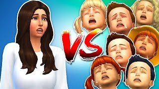 Download The Sims 4 - SEVEN TODDLER CHALLENGE!! (Sims 4, Episode 4) Video