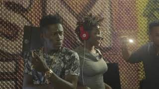 Download Shatta Wale and Ebony recording session Video