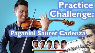 Download PRACTICE CHALLENGE pt. 1 (Paganini Sauret Cadenza) Video