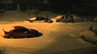 Download Time Lapse of New Jersey Blizzard - December 26, 2010 Video