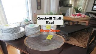Download Goodwill Thrift Haul | Home Decor Video