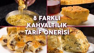 Download Aynı Kahvaltı Sofrasından Sıkılanlara Sekiz Farklı Kahvaltılık Tarif (Seç Beğen!)   Yemek Video