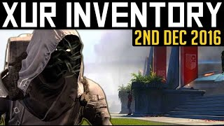 Download Destiny | Xur Location, Inventory & Exotics 2nd December 2016! (Week 117) Video