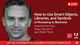 Download How to Use Smart Objects, Libraries, and Symbols in Photoshop and Illustrator Video
