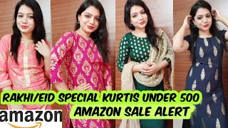 Download Amazon Kurti Haul Under 500🌟Best for Rakhi/Eid🌟Amazon Freedom Sale from 8th to 11th August, 2019 Video