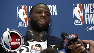Download [FULL] Draymond Green explains Warriors' Game 2 loss: It was our 'gameplan discipline' | NBA on ESPN Video