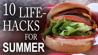 Download 10 Life Hacks You Need To Know For Summer! Video