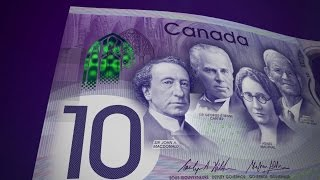 Download Canada 150 bank note Video
