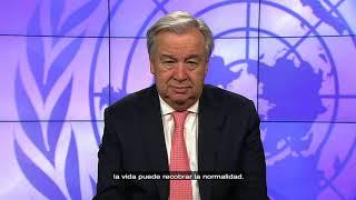 Download António Guterres pide apoyo para las tareas de desminado Video