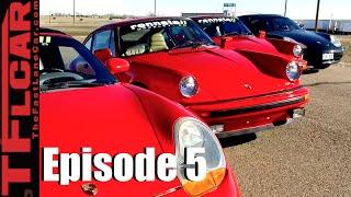 Download Porsche 930 Turbo vs 911 SC vs Boxster vs 996 Mashup Drag Race & Review - Project Porsche Ep. 5 Video