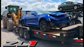 Download Rebuilding A Wrecked 2018 Camaro ZL1 Video