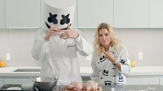 Download Thanksgiving Dinner Game Hens (Feat. Celebrity Chef Cat Cora) | Cooking with Marshmello Video