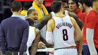 Download LEBRON JAMES AND COACH TYRONN LUE GET INTO ALLEGED HEATED ARGUMENT IN THE LOCKER ROOM! Video