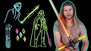 Download How Lightsaber Color Tells Us What They're Really Made of! (Because Science w/ Kyle Hill) Video