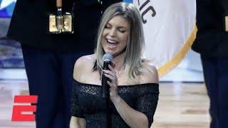 Download Fergie's national anthem draws criticism | ESPN Video