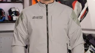 Download ICON Tarmac Jacket Review at RevZilla Video