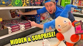 Download HIDDEN POKEMON CARD SEARCH and SURPRISE w/ NEW DETECTIVE PIKACHU TOYS at Target! Opening Packs Video