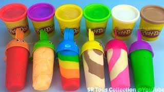 Download How to Make Play Doh Ice Cream with Molds Fun and Creative for Kids Video