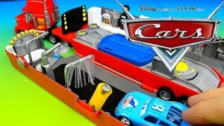 Download Disney Pixar Cars Lightning McQueen & Mater have fun with Modified Mack! Video