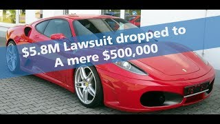 Download $5.8M Ferrari F430 lawsuit gets dropped to $500k Video
