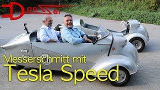 Download DER SCHNELLSTE MESSERSCHMITT DER WELT - Tesla-Killer als Elektro-Oldtimer eTiger Video