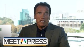 Download Arnold Schwarzenegger On Donald Trump, The Republican Party And 2016 | Meet The Press | NBC News Video