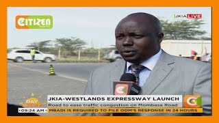 Download President Uhuru launches JKIA-Westlands expressway Video