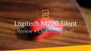 Download Logitech M220 Silent Mouse - Review + Click Sound Test! Video