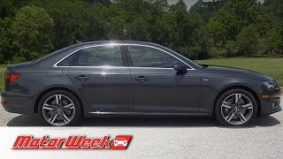 Download Road Test: 2017 Audi A4 - Better, and a Trend Setter Video