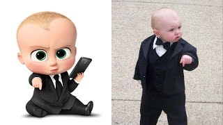 Download The Boss Baby in Real Life Video
