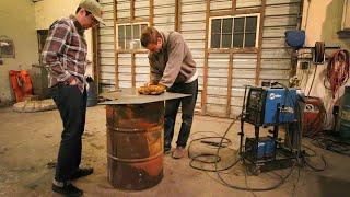 Download 55 Gallon Drum Meat Smoker Build Video