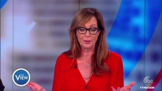 Download Allison Janney Weighs In On Press Sec. Spicer, Addressing Real Life Issues On ″Mom″ | The View Video