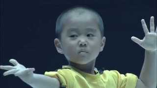 Download Ryusei(5year old)performed Bruce Lee's style Nunchaku on martial arts event Video