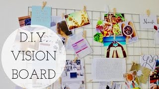 Download DIY VISION BOARD + How To Manifest Your Dreams! Video