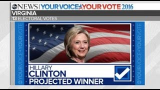 Download Hillary Clinton Wins Virginia | 2016 Election Results Video