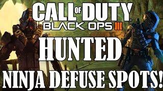 Download BO3 Hiding Spots - Hunted Ninja Defuse Spots! (Black Ops 3 Tips) Video