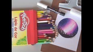 Download Desenhando com lápis Play Doh Video