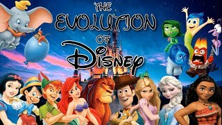 Download The Evolution Of Disney (1937-2018) Video
