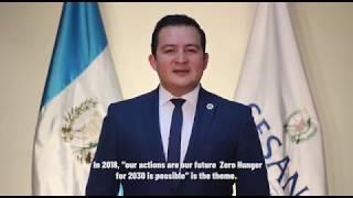Download Mensaje del Secretario de Seguridad Alimentaria y Nutricional de Guatemala, Juan Carlos Carías Video