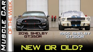 Download 2016 Ford Shelby GT350R vs 65 : Muscle Car Of The Week Video Episode 302 V8TV Video
