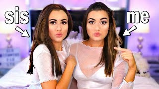 Download Transforming my SISTER into ME! Twin Makeup Challenge! Video