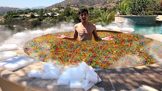 Download 5,000,000 ORBEEZ IN MY HOT TUB VS DRY ICE EXPERIMENT!! Video