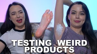 Download Testing Weird Products - Merrell Twins Video